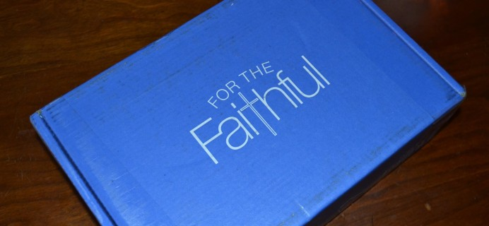For the Faithful March 2015 Review & Coupon