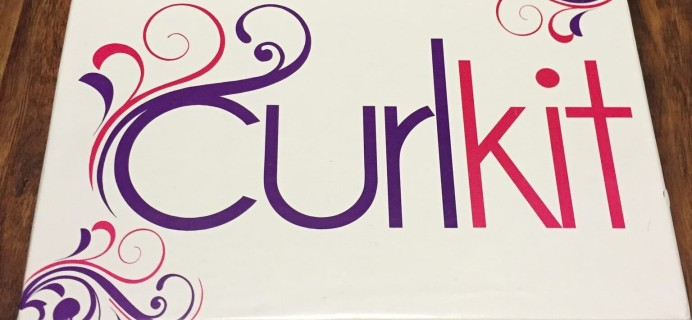February 2015 #CurlKit Review – Subscription Box for Naturally Curly Hair