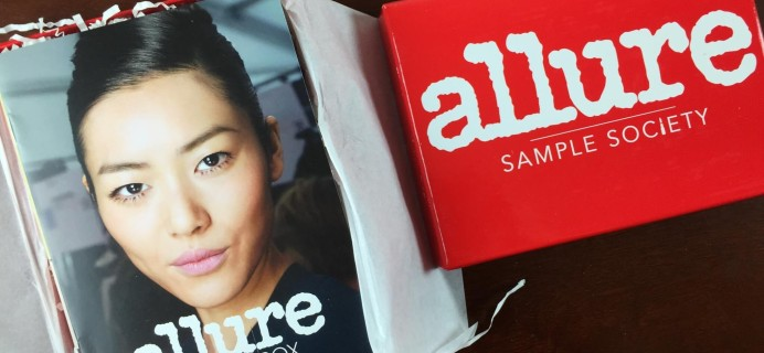 March 2015 Allure Sample Society Beauty Box Review & Coupon