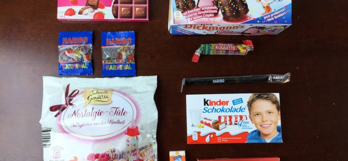 Candy German Subscription Box Review – February 2015