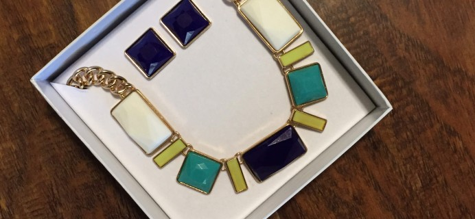 Dazzley Box Review – March 2015 Statement Necklace – Jewelry Subscription Box