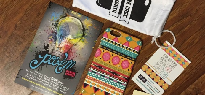 Phone Case of the Month Subscription Review + Half Off Coupon #pcotm – March 2015
