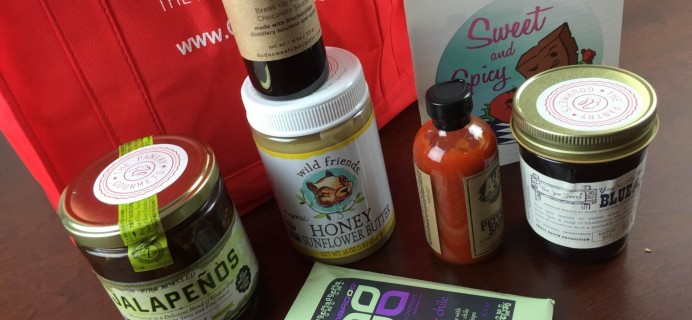 February 2015 The Pantry Gourmets Bite Box – Food Subscription Box Review