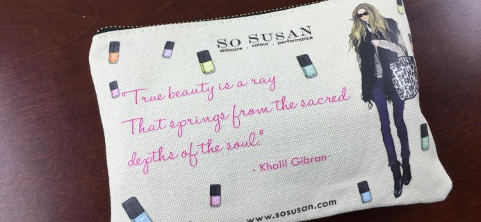 So Susan Lip Love Makeup Subscription Review & Coupon – February 2015