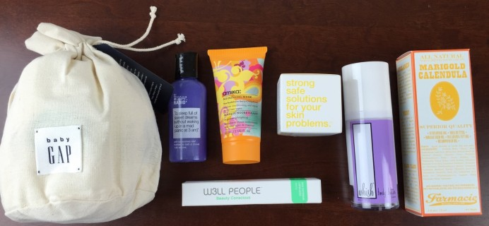 Limited Edition Birchbox + Baby Gap Box Review & Coupons #babygapxbirchbox