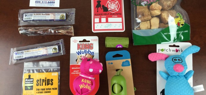 PawPack Review & Coupon – March 2015 – Subscription Box for Dogs