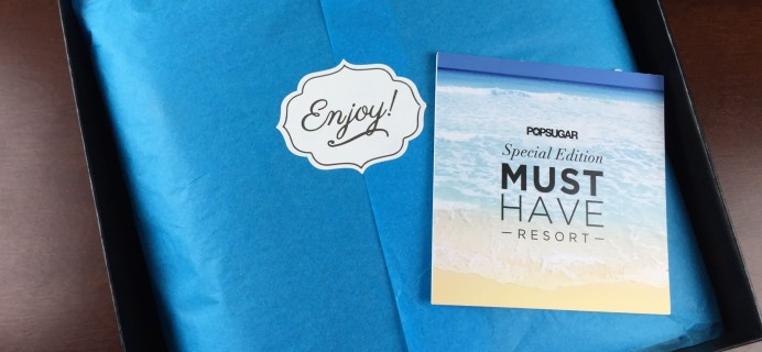Popsugar Must Have Special Edition Resort Box Review – 2015