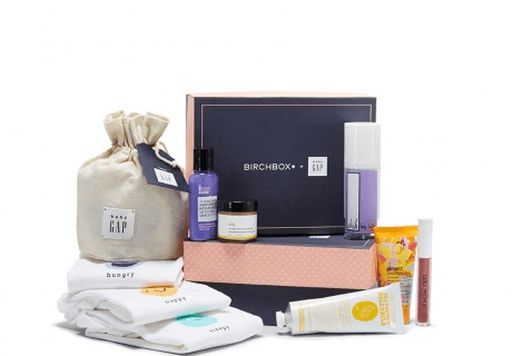 Limited Edition Birchbox + Baby Gap Box Available Now! #babygapxbirchbox