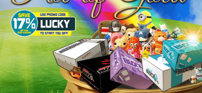 Nerd Block, Arcade Block, & Horror Block Coupon – Save 17%!