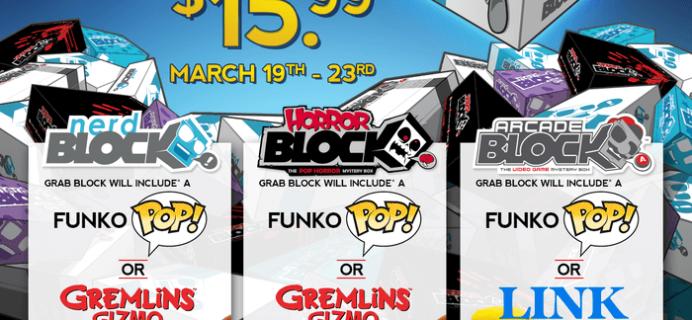 Nerd Block Grab Block is Back