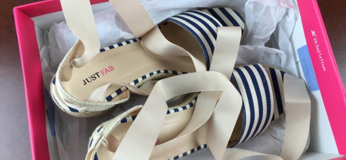 April 2015 JustFab Review