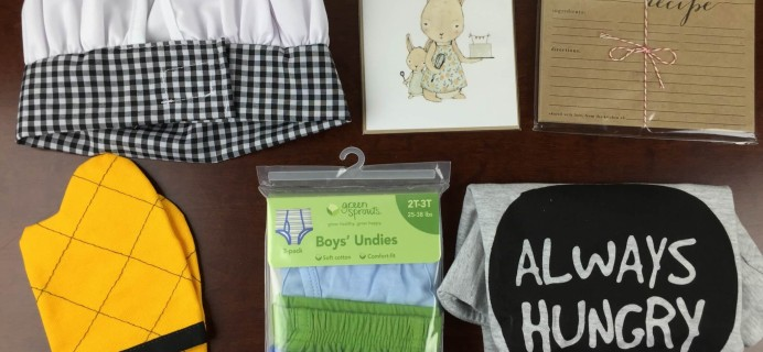 March 2015 A Little Bundle Baby + Toddler Subscription Box Review