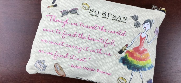 March 2015 So Susan Lip Love Subscription Review & Coupon