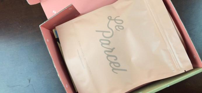 April 2015 Le Parcel Period Box Review & Coupon