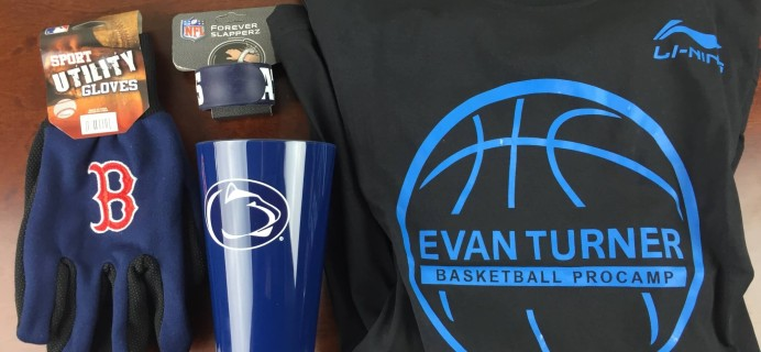 April 2015 Sports Crate Review