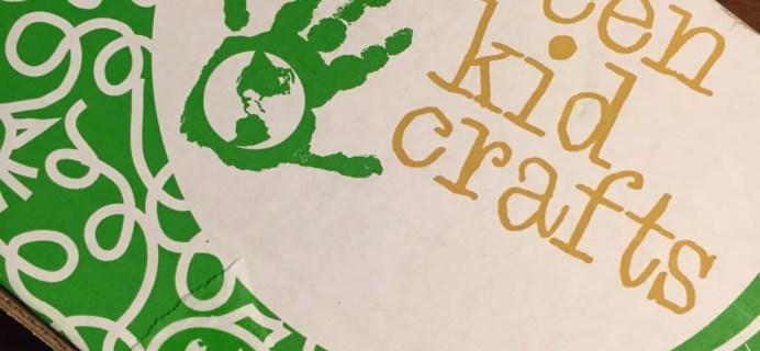 April 2015 Green Kid Crafts Review & Coupon