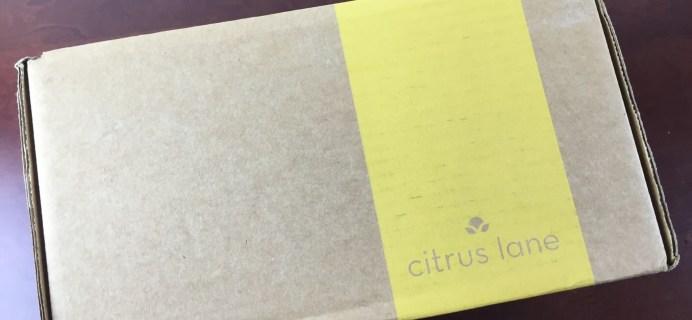 April 2015 Citrus Lane Baby Box Review & 30% Off + Bonus Item Code