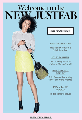 April 2015 JustFab Selection Time + New Clothing Line!