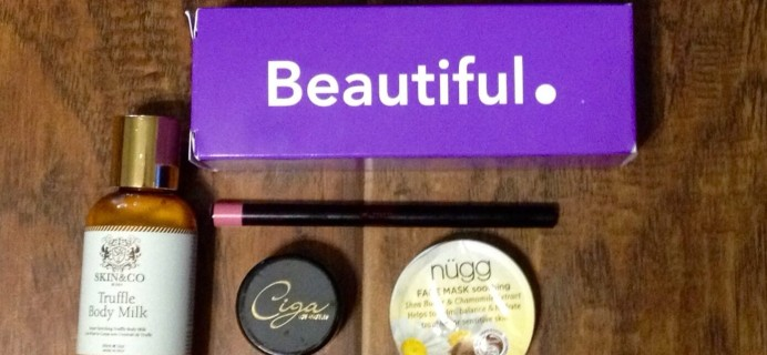April 2015 TomBoxes Review – Period Subscription Box – First Box $8!