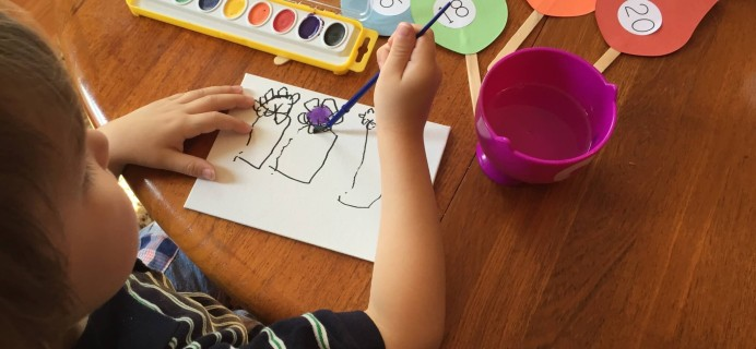 M is for Monster Preschool Subscription Box May 2015 Review + 50% Off Coupon!