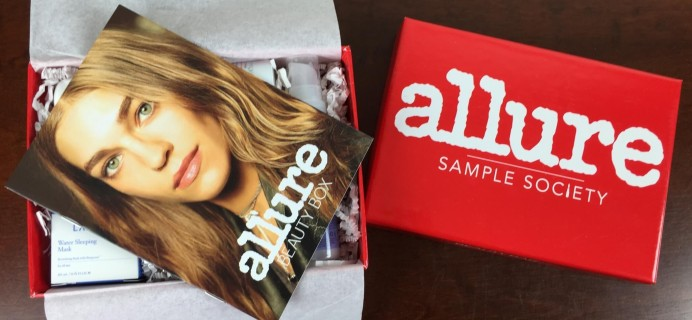 May 2015 Allure Sample Society Subscription Box Review