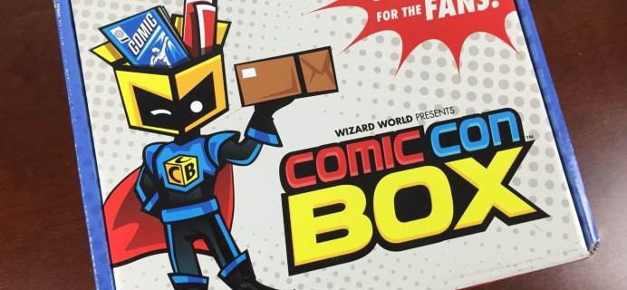 Comic Con Box Review – May 2015 #conlife