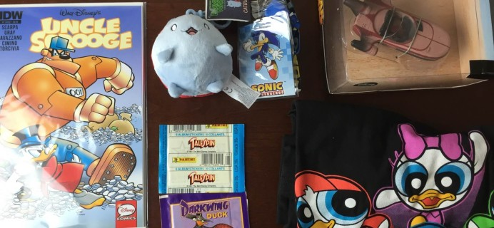 Geek Me Box Subscription Review – May 2015