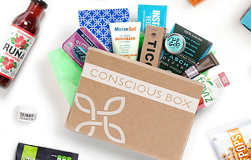 Conscious Box Subscription Box Deal on RueLaLa