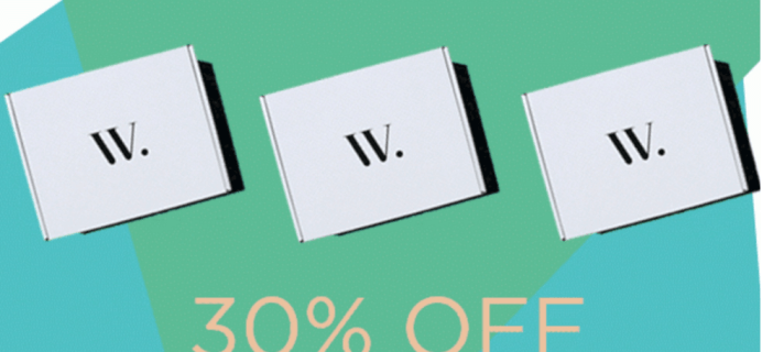 Wantable Memorial Day Sale – 30% Off Coupon Code