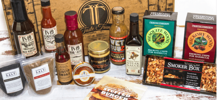 Taste Trunk Father's Day Trunk + Coupons!
