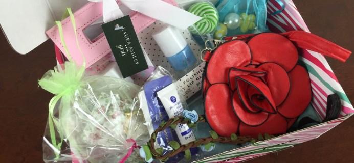 May 2015 PoshPak Girls Subscription Box Review