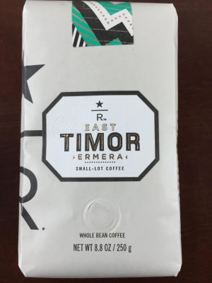 Starbucks Reserve Coffee Subscription Box May 2015 Review
