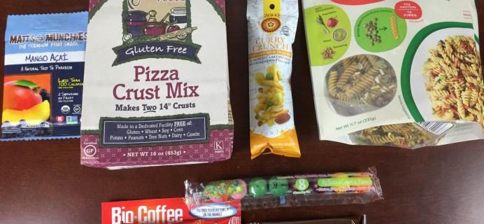 Taste Guru April 2015 Review – Gluten-Free Subscription Box