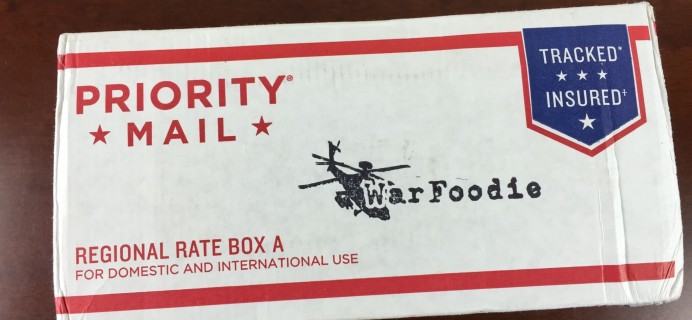 War Foodie Subscription Box Review – For Deployed Service Members