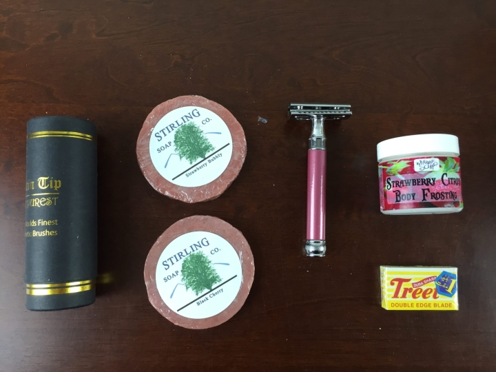 wet shave club womens box
