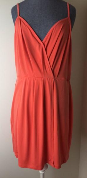 BCBGeneration Cross-Front Short Dress