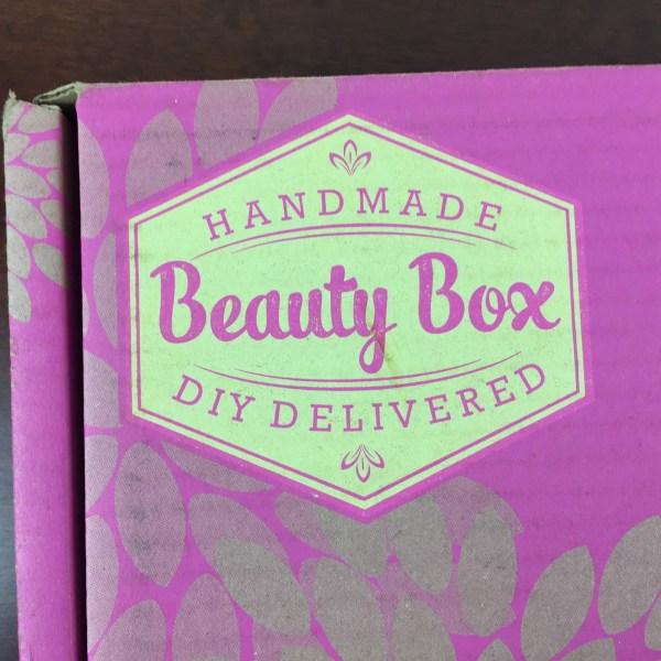 Handmade Beauty Box May 2015 box