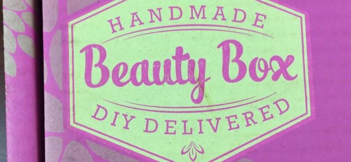 Handmade Beauty Box Review – May 2015 – DIY Bronzer