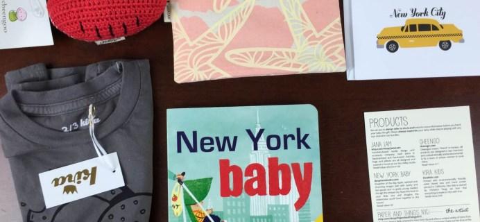 June 2015 A Little Bundle Baby + Toddler Subscription Box Review