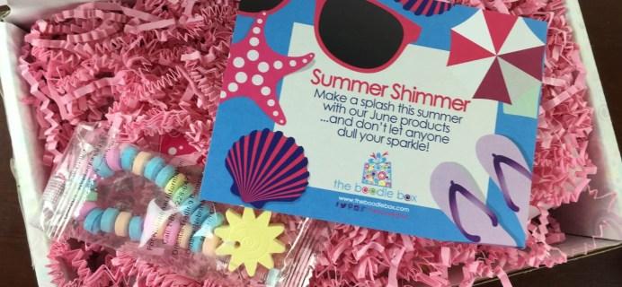 Boodle Box 1 + 2 June 2015 Reviews – Girls & Teens Subscription Box