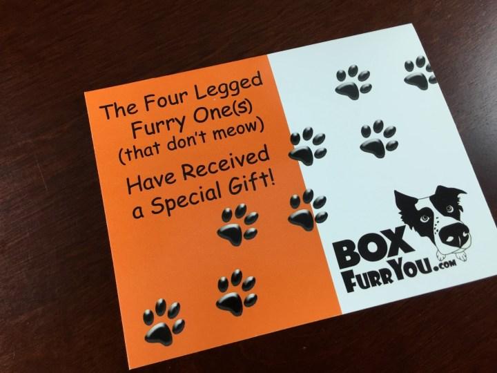 box furr you review june 2015 card