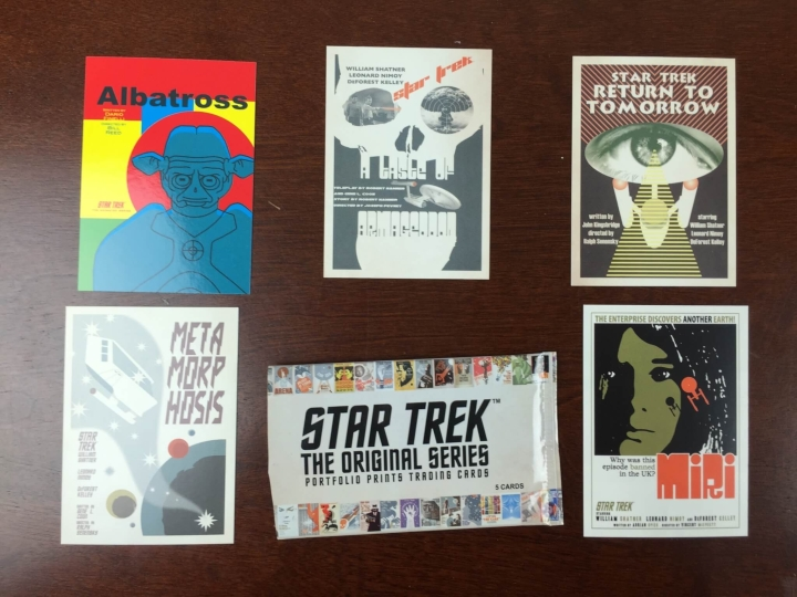 collectible geek june 2015 trading cards