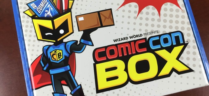 June 2015 ComicConBox Subscription Box Review + July Theme Spoilers #conlife