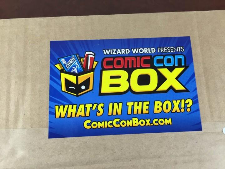comiccon box