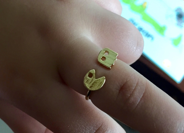 gamer girl monthly june 2015 pacman ring