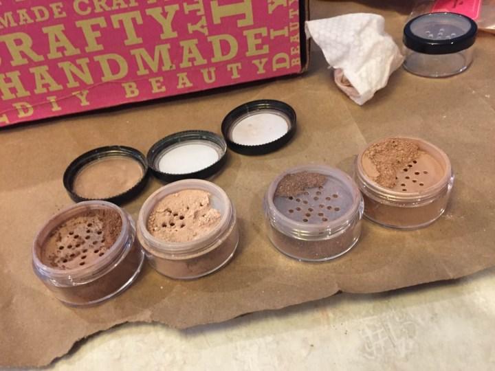 handmade beauty box may 2015 bronzers