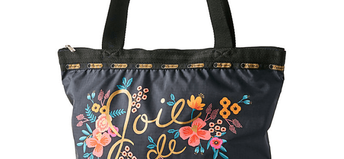 Rifle Paper Co x Le Sport Sac Exclusive Paper Source Hailey Tote