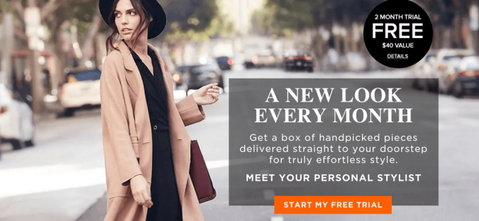 Daily Look Elite Personal Styling Subscription Box – Two Month Free Trial