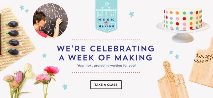 Brit + Co Kits & Classes 20% Off! – Ends Thursday