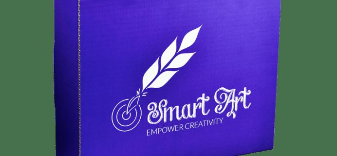 Smart Art Box July 2015 Spoiler Hints + Coupon Code